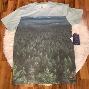 tentree Shirts - Men's tentree Outbound Little Mountain Large Tee